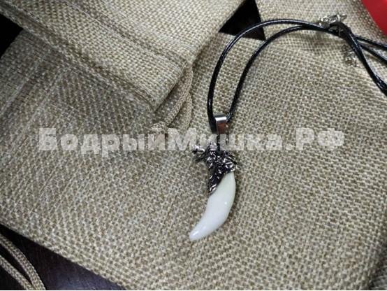 Медальон Клык волка 001
