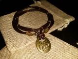 Медальон Медвежья лапа #3 Витая пара