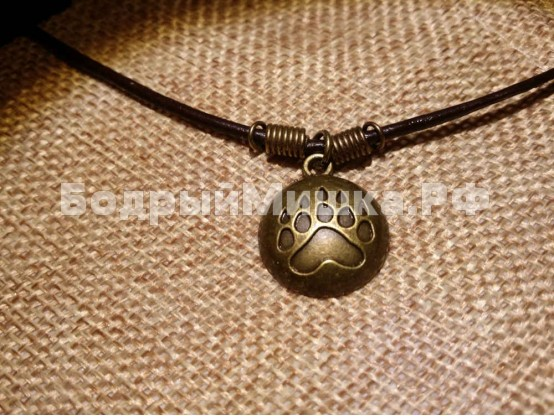 Медальон Медвежья лапа #5