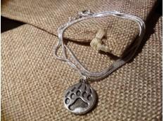 Медальон на цепочке - Медвежья лапа 4