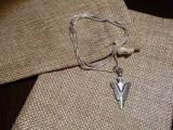 Медальон на цепочке - Наконечник стрелы