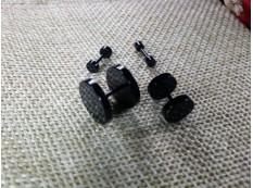 Серьга Штанга 8мм цвет черный