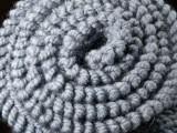 Шарф 07 Серый (Средний)