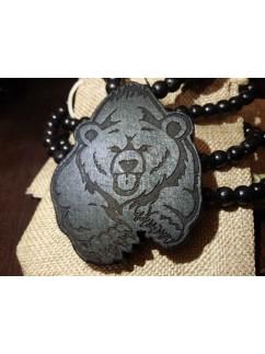 Талисман Медведь 001 (Черный)