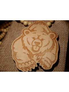 Талисман Медведь 001 (Древесный)