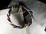 Браслет замшевый Стрелка 021 Олимпийский браслет