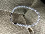 Браслет из нейлона плетеный 004 белый