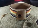 """Кожаный браслет """"Лемос"""" 010 со своим именем"""