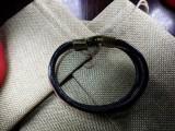 """Кожаный браслет """"Питон"""" 002"""