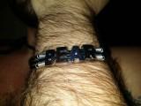 """Кожаный браслет: """"Leather Bear"""" (черная кожа)"""