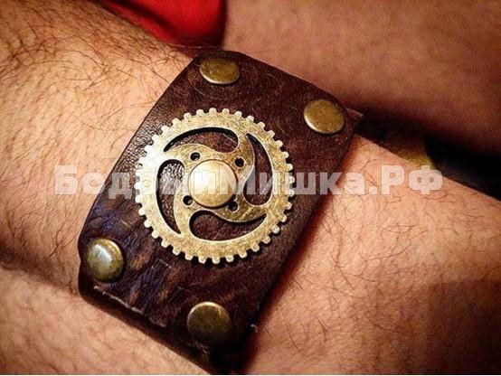 Кожаный браслет #2