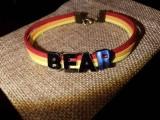 """Браслет замшевый: """"BEAR"""""""