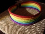 """Браслет замшевый: """"Rainbow Pride"""""""