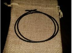 Шнур Кожаный 2мм, коричневый