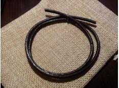 Шнур Кожаный 3мм, коричневый