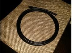 Шнур Кожаный 4мм, черный